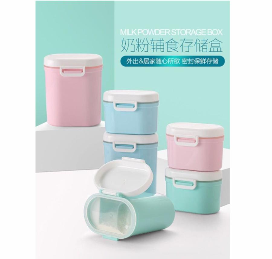 Large Baby Milk Formula Storage Container Box Portable Milk Powder