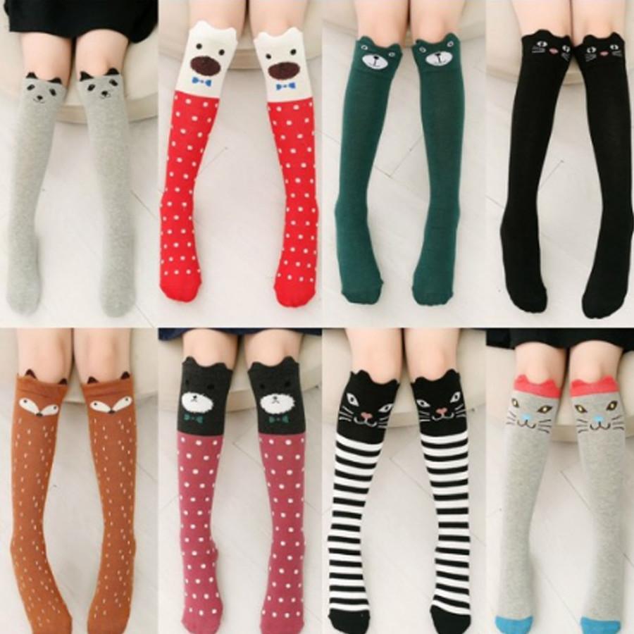 Kids Winter Warm Sports Long Sock Over Knee Cotton Long Tube Princess Kid's Knee Socks Dance Socks