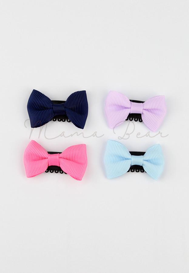 Simple Ribbon Baby/Kids Hair Clip Set