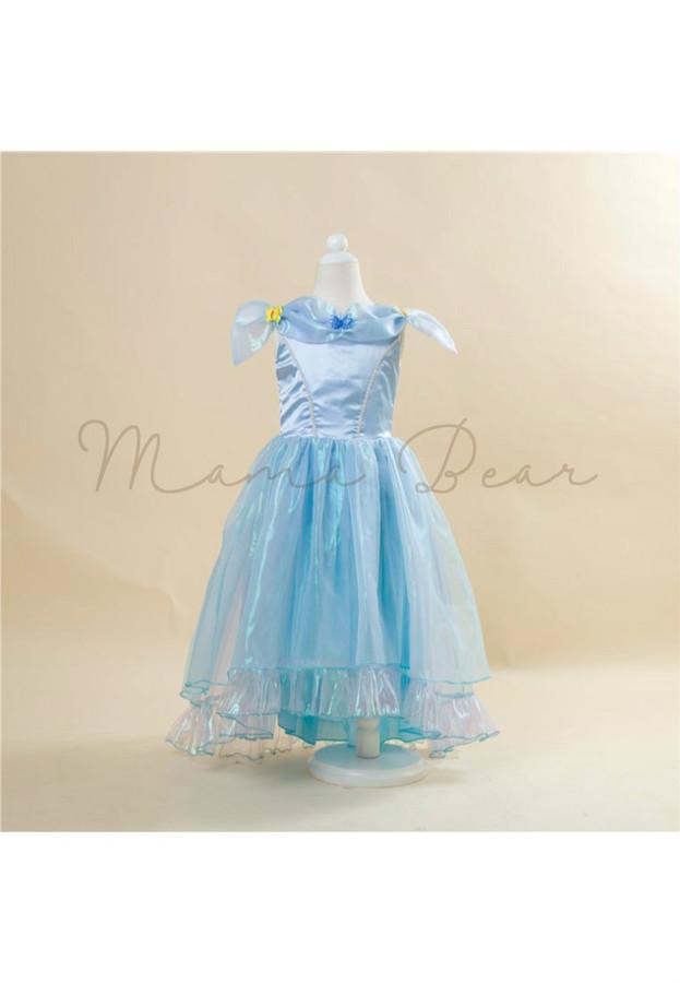 Elegant Cinderella Theme Kids Costume
