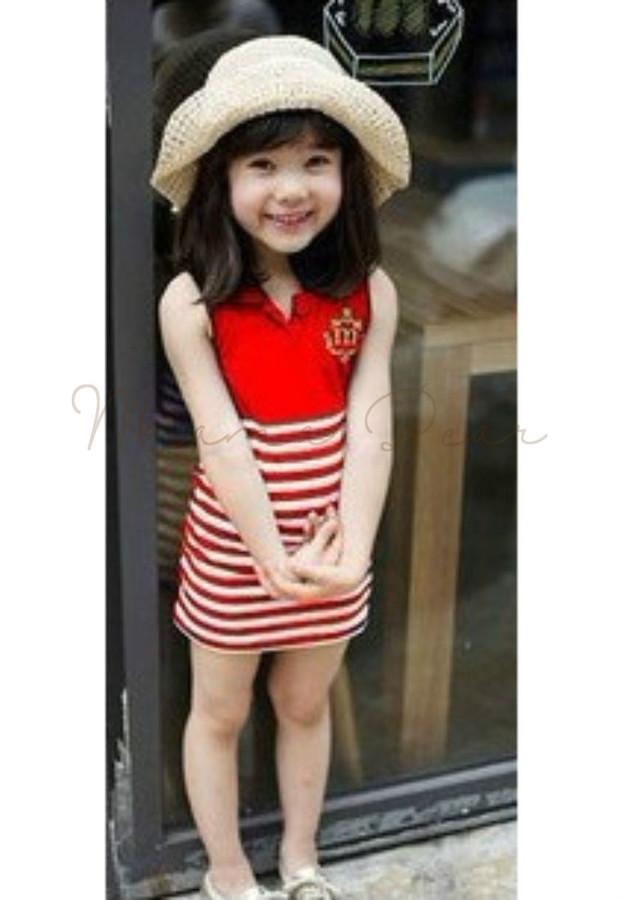 Royal Stripes Kid Dress