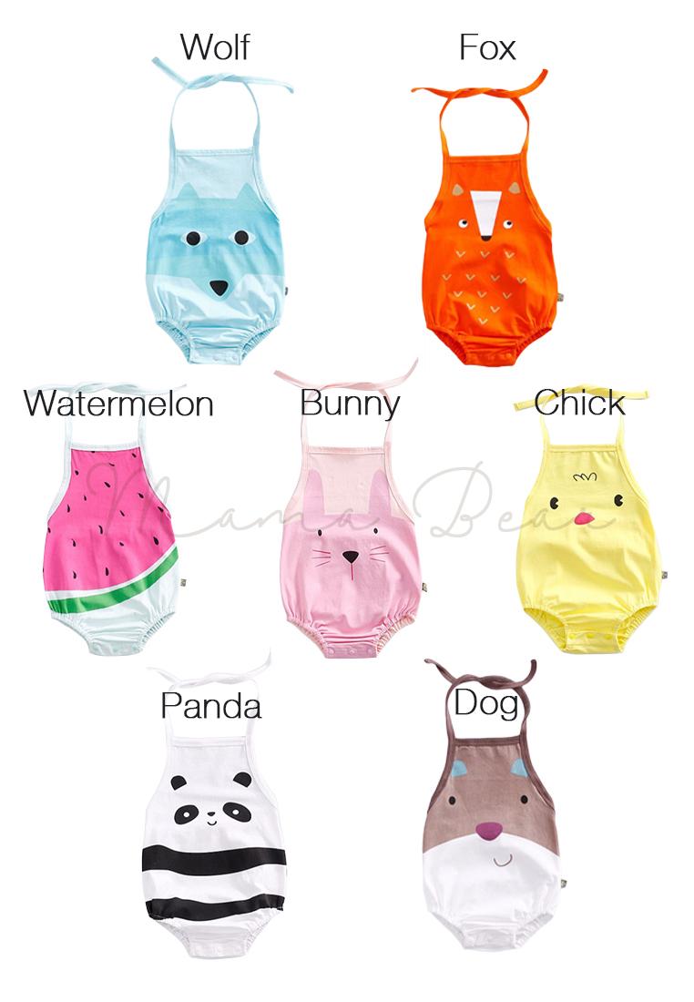 b58a2490f91 Write a Review. Random Print Sleeveless Baby Bodysuit
