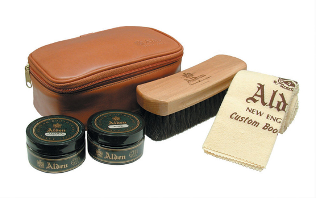 Alden Leather Travel Kit