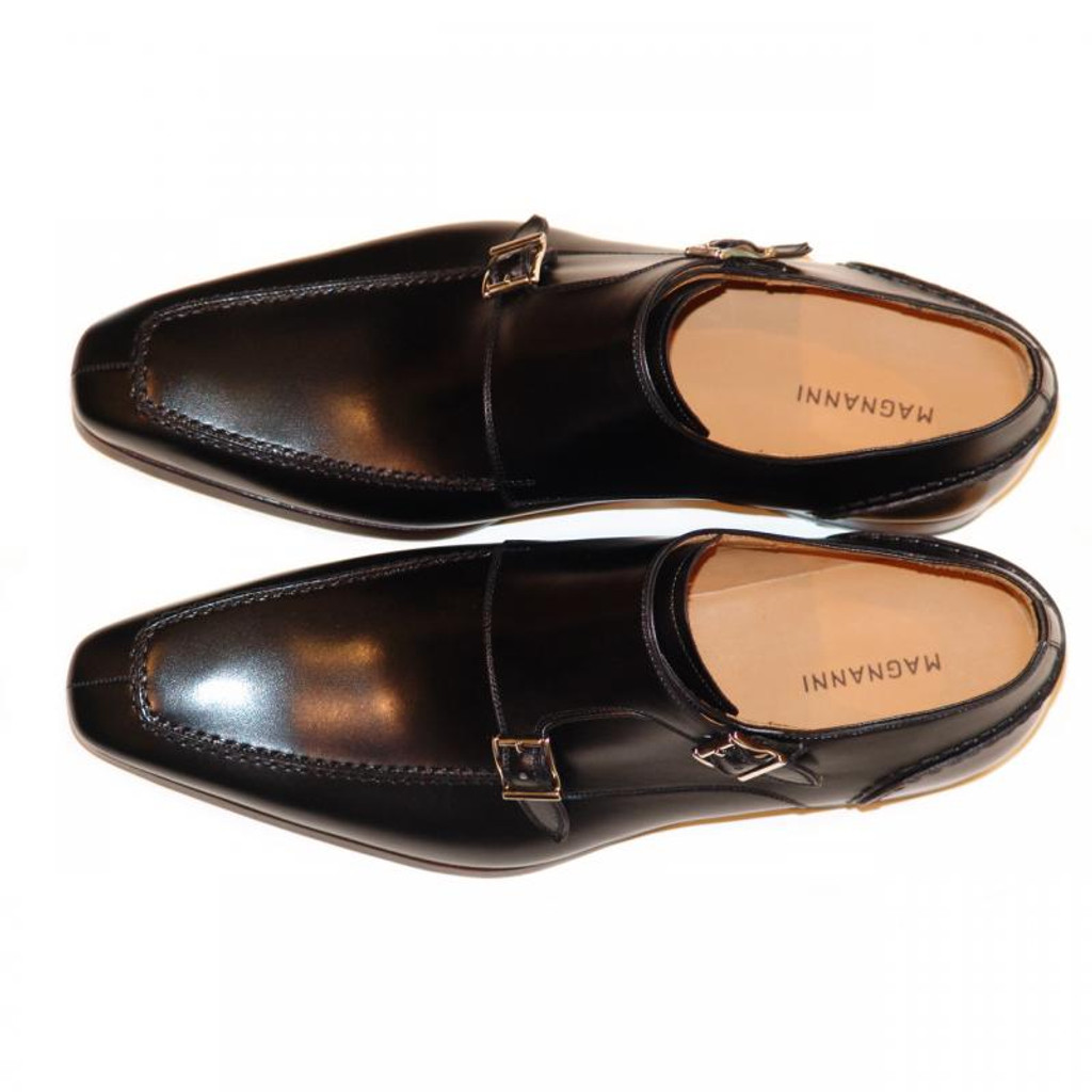 Magnanni Exclusive 6273 Double Monk Strap Black