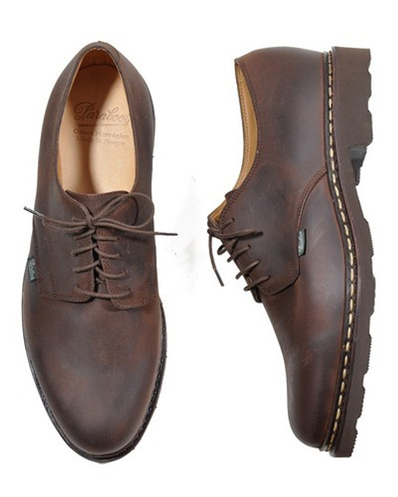 Paraboot Arles (703804) Wax Leather Lace Up Brown
