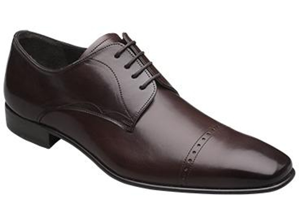 Mezlan Milton Cap Toe Design Lace Up Brown- FINAL SALE
