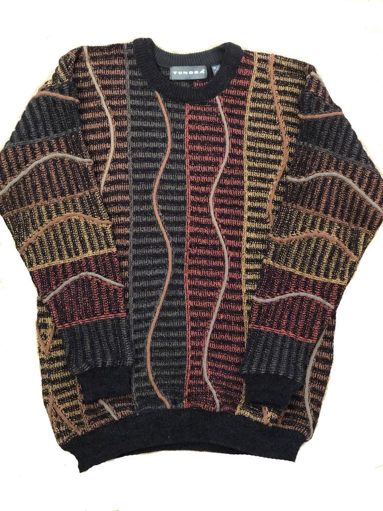Pelle Line 6T201 Sweater Crew Neck -Multi- FINAL SALE