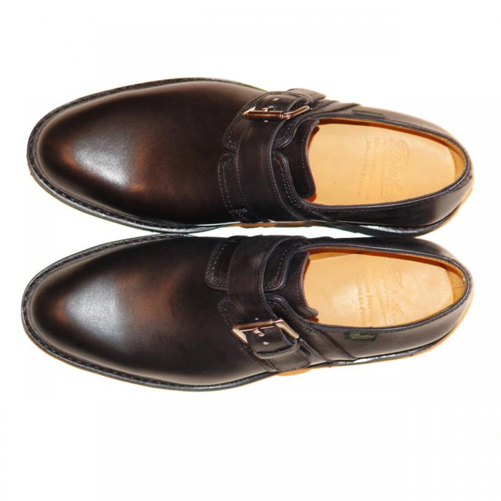 Paraboot Loty Monk Strap Black FINAL SALE
