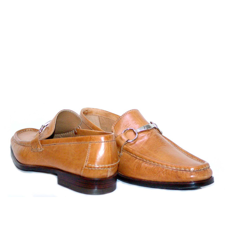 Lorenzo Banfi Calfskin Bit Loafer 626F Tan FINAL SALE