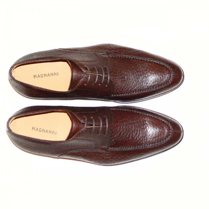 Magnanni 13996 Brown Full Peccary Leather Very Soft