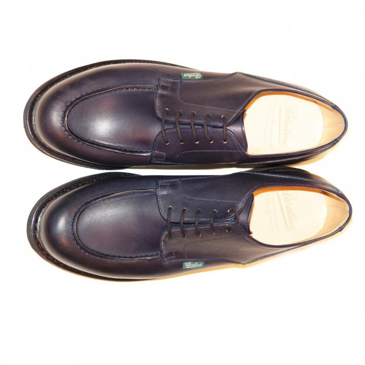 Paraboot Chambord (710710) Leather Lace Up Navy FINAL SALE