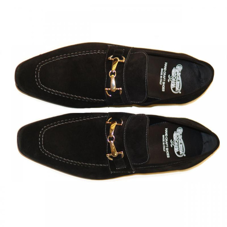 Pelle Line Exclusive 1004 Black Suede With Bit Buckle FINAL SALE