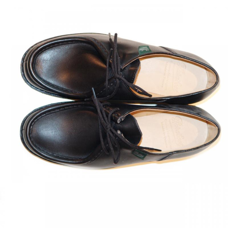 Paraboot Michael Leather Lace Up Black