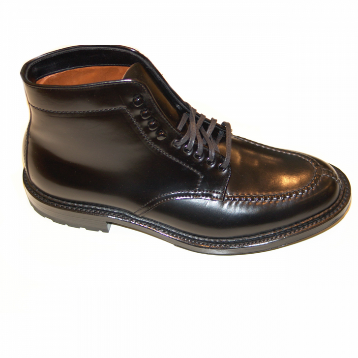 Pelle Line Exclusive Alden Tanker Boot 5917 Black Cordovan