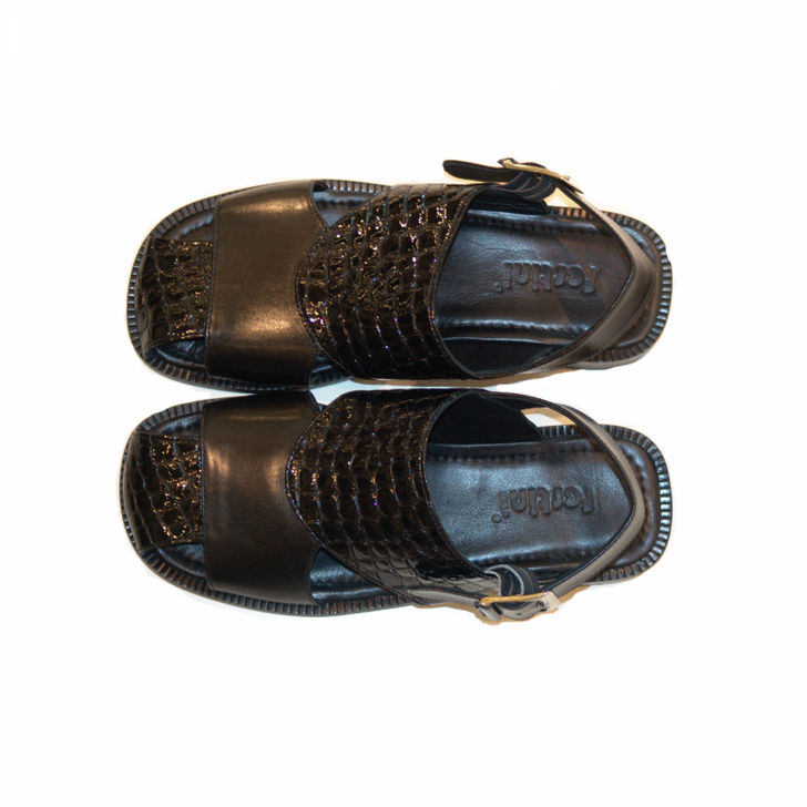 Pelle Line Exclusive SS50 Sandal Black