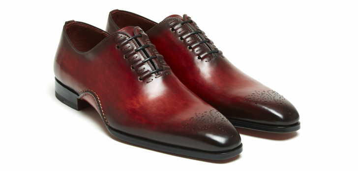 Magnanni Exclusive  Josue 7970 Lace up Red- FINAL SALE