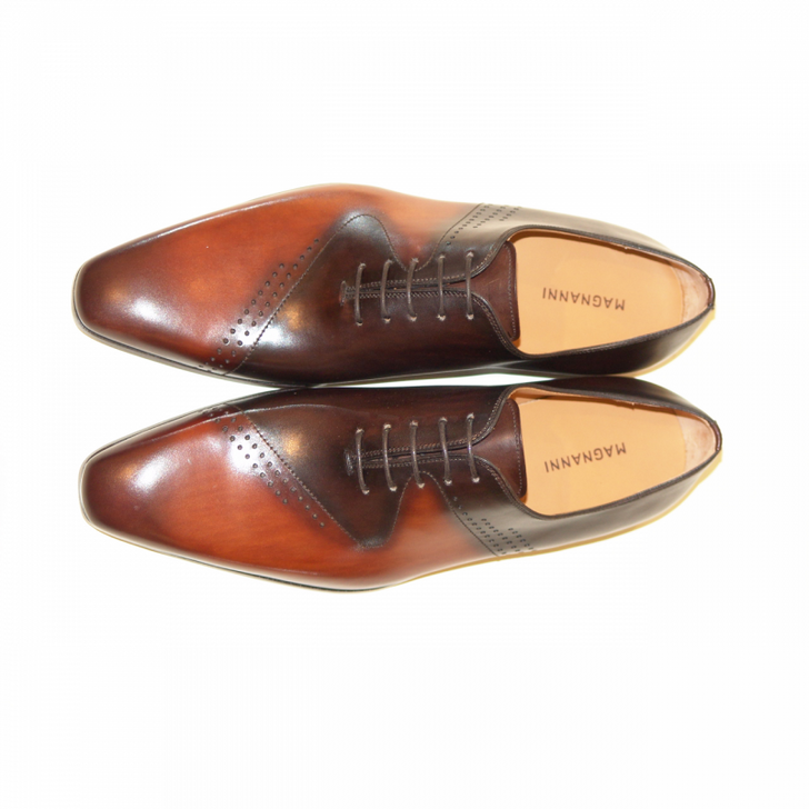 Magnanni Exclusive 7626 Lace up Cognac-Brown