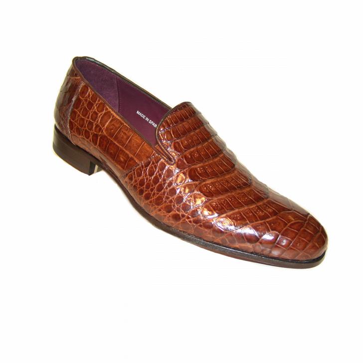 52d74d8528 Mezlan Calvino Alligator Plain Loafer Sport