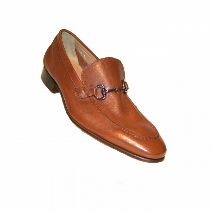 Corrente 4428 Buckle loafer- Cognac