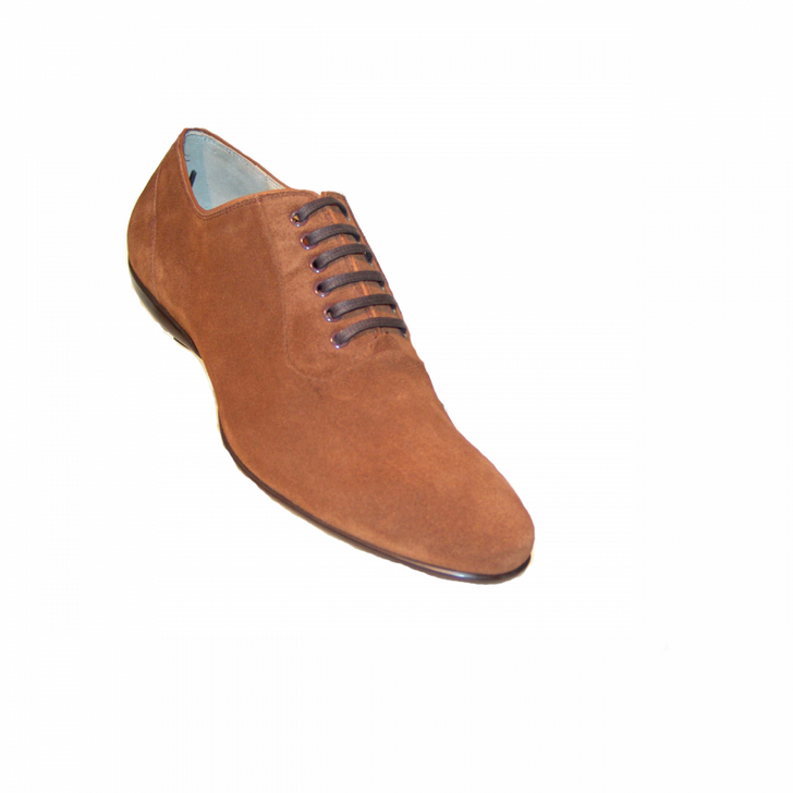 Corrente 7003 lace up - Tan Suede