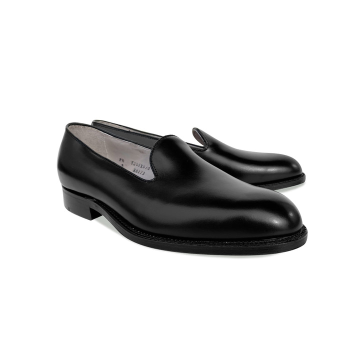 Pelle Line Exclusive Alden 88173  Plain loafer - Black