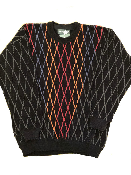 Pelle Line 6T215 Sweater Crew Neck -Black- FINAL SALE