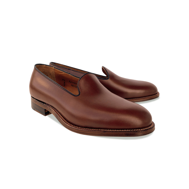 Pelle Line Exclusive Alden D8105  Plain loafer - Madison Cigar