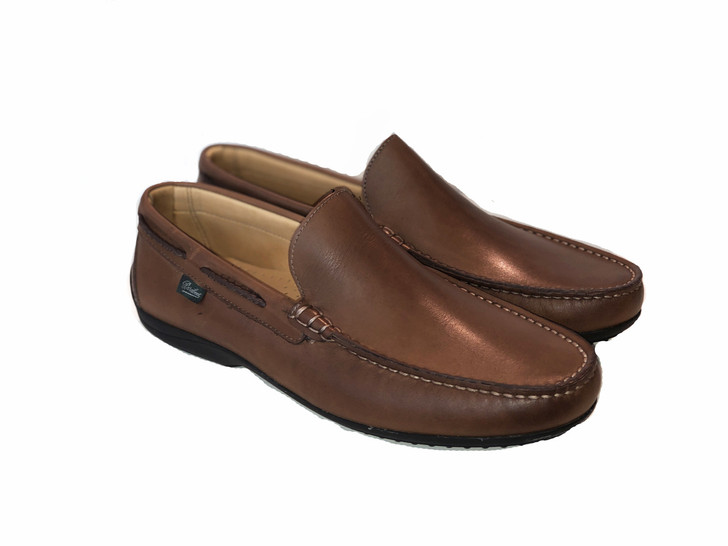 Paraboot Starter Soft Leather Moccasin Tan