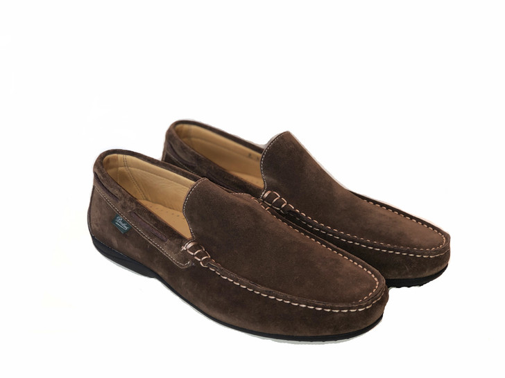 Paraboot Starter Soft Leather Moccasin  Wood Suede