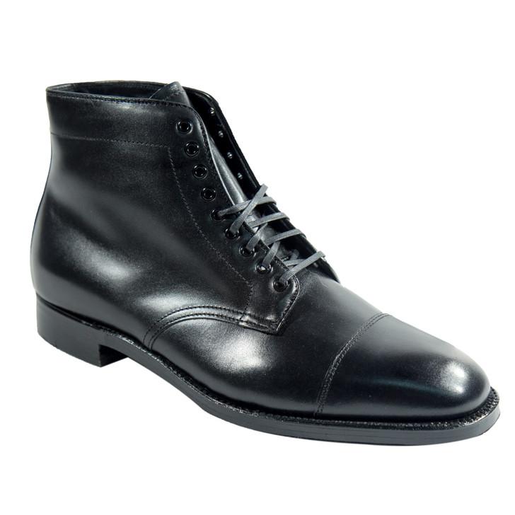 Alden 3917 Straight Tip boot Black