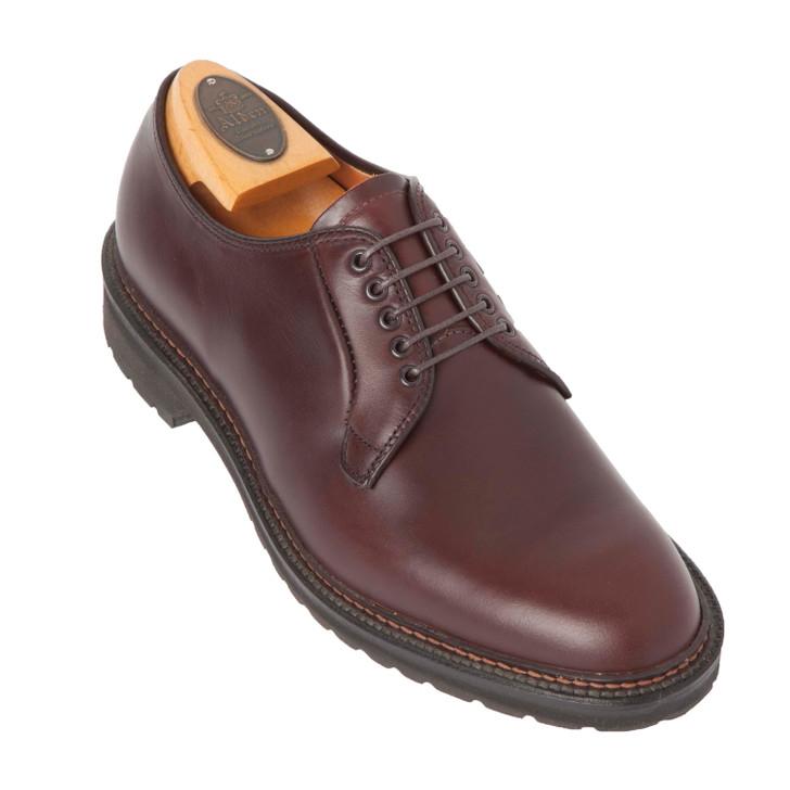 Alden 9432S Plain Toe Blucher- Brown