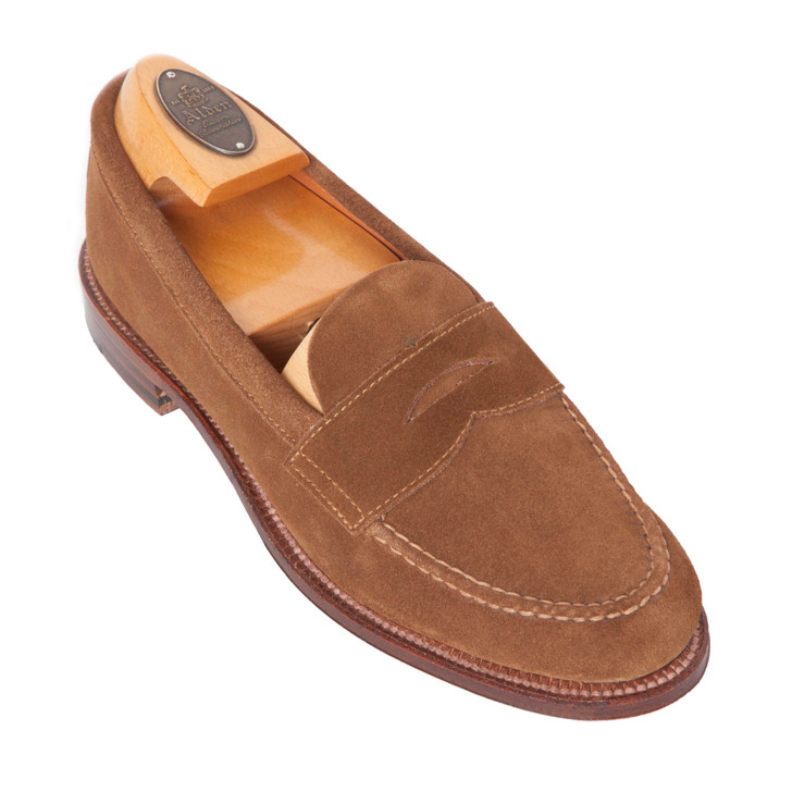 Alden 6243F Handsewn Penny Loafer With Unlined Vamp