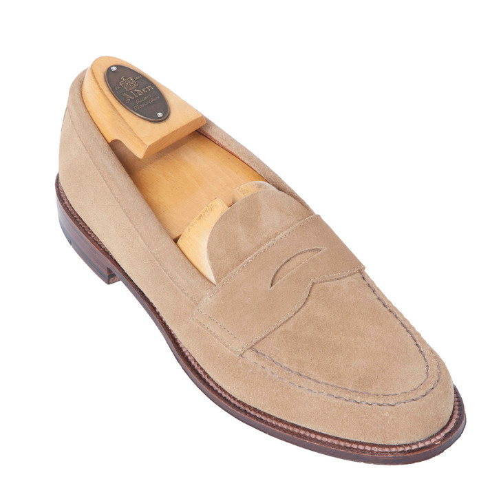 Alden 6244F Handsewn Penny Loafer With Unlined Vamp