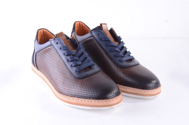 Pelle Line Exclusive 5078 Perforated Casual- Brown