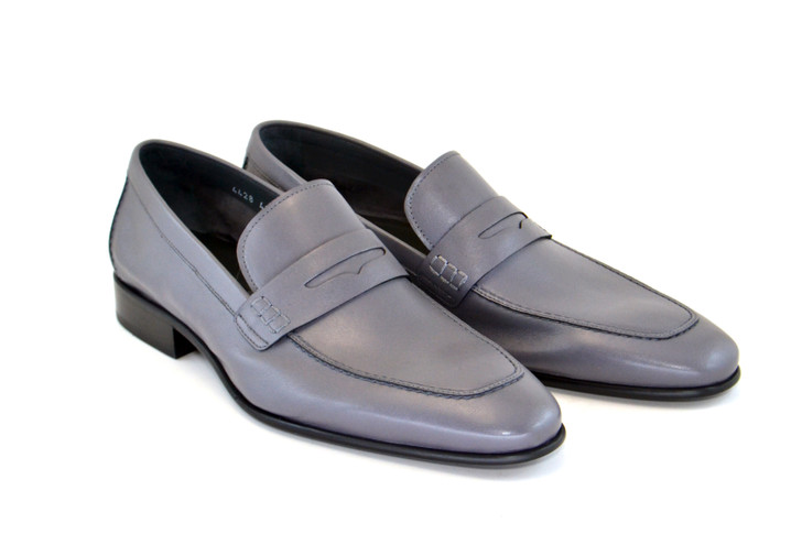 Corrente 4428-1 Penny Loafer- Gray
