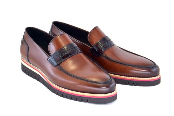 Corrente 5602 Fashion Loafer - Brown