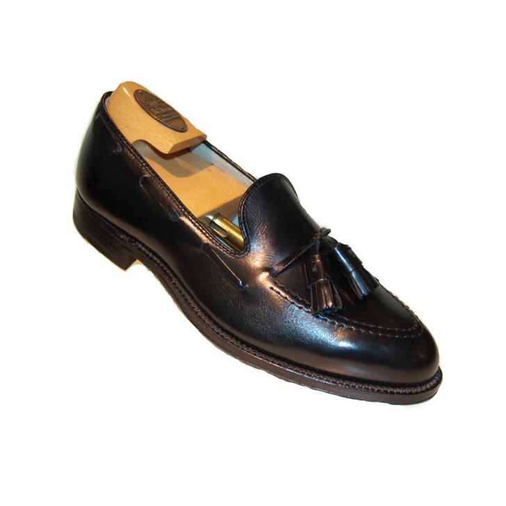 Alden 660 Tassel Moccasin Loafer - Black