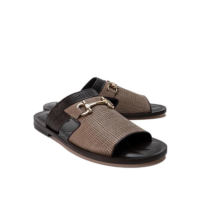 Corrente 5827 Sandal - Pebble