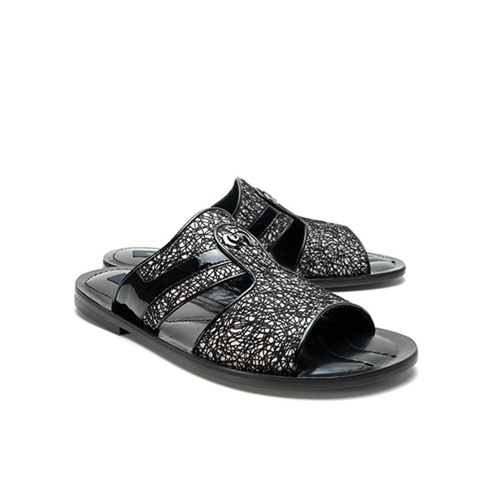 Corrente 5829 Sandal - Black Multi