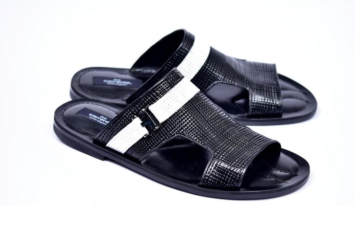 Corrente 5828 Sandal - Black