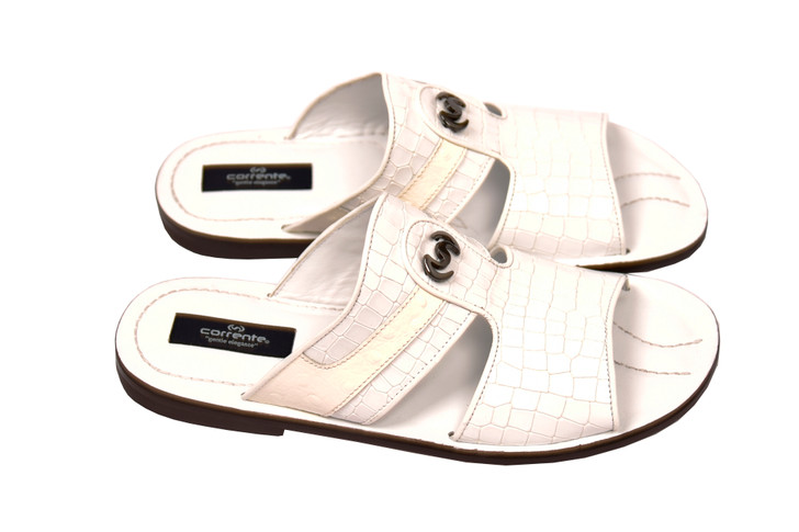 Corrente 5829 Sandal - White