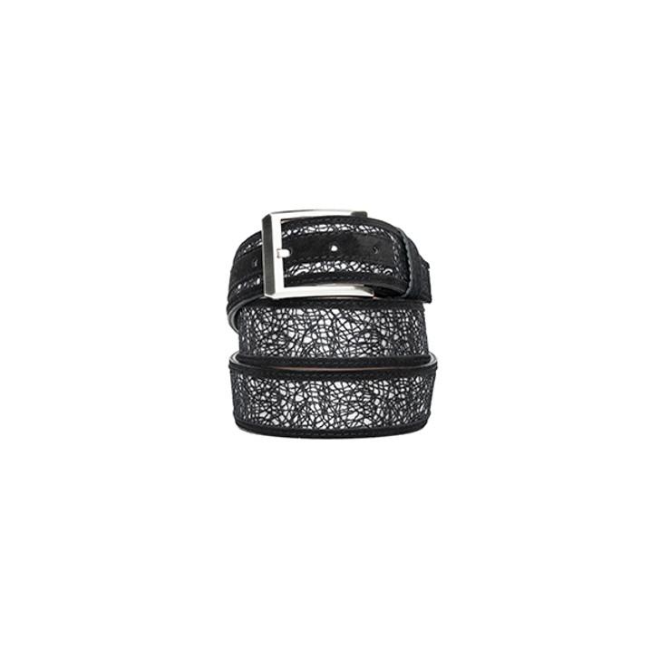 Corrente Men's Leather Belt - 5829 Black