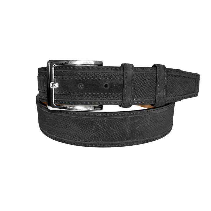 Corrente Men's Leather Belt - 5760 Black