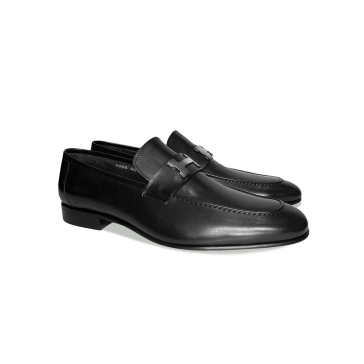 Corrente 5760 - H Buckle loafer Black