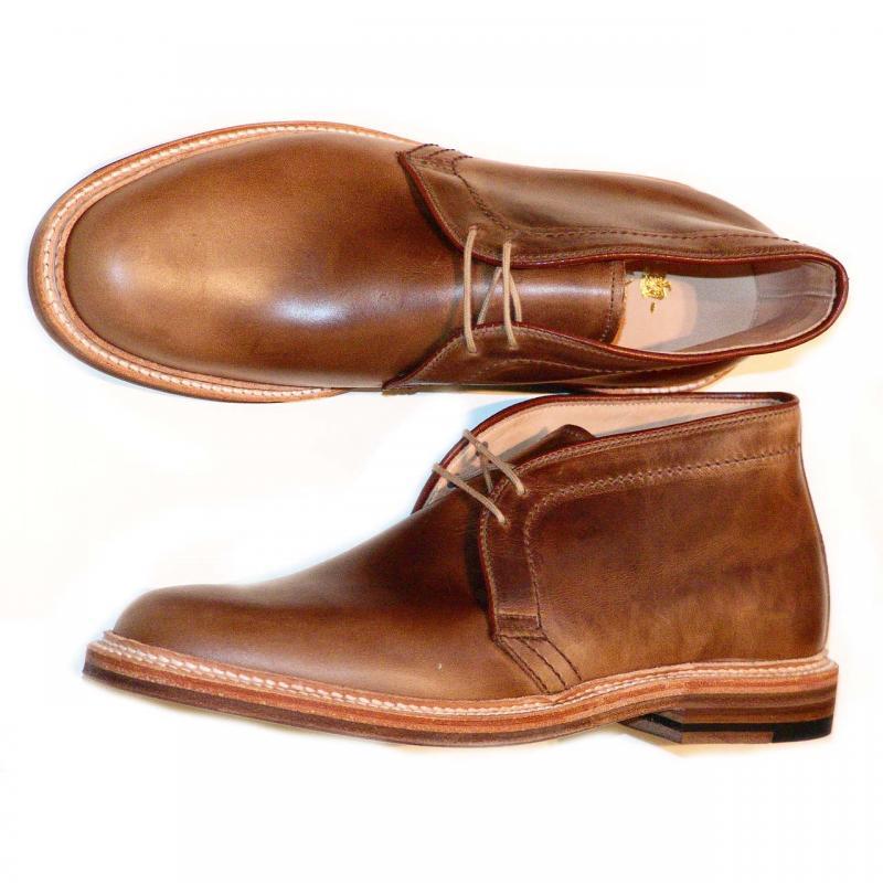 Pelle Line Exclusive Alden 83785 Natural Chromexcel Chukka Boot
