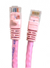 Category 6 UTP RJ45 Patch Cable Pink - 7 ft