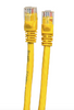 Category 6 UTP RJ45 Patch Cable Yellow - 1ft