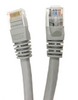Category 6 UTP RJ45 Patch Cable Gray - 1ft