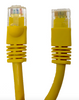 Category 5E UTP RJ45 Patch Cable Yellow - 100 ft