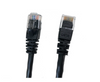 Category 5E UTP RJ45 Patch Cable Black - 25 ft